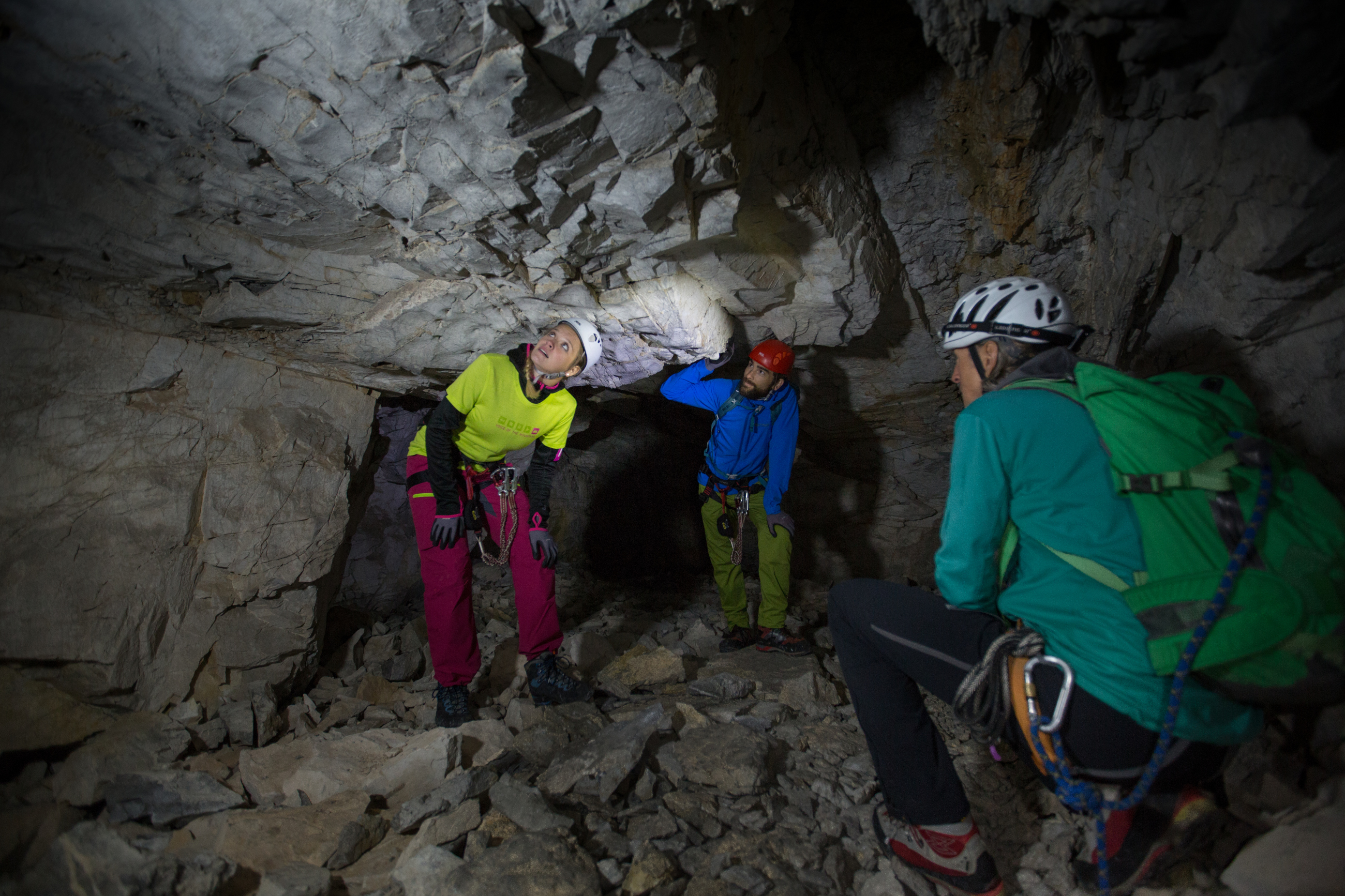 Klettergurt Klettersteig : Klettersteig gauablickhöhle montafon.at