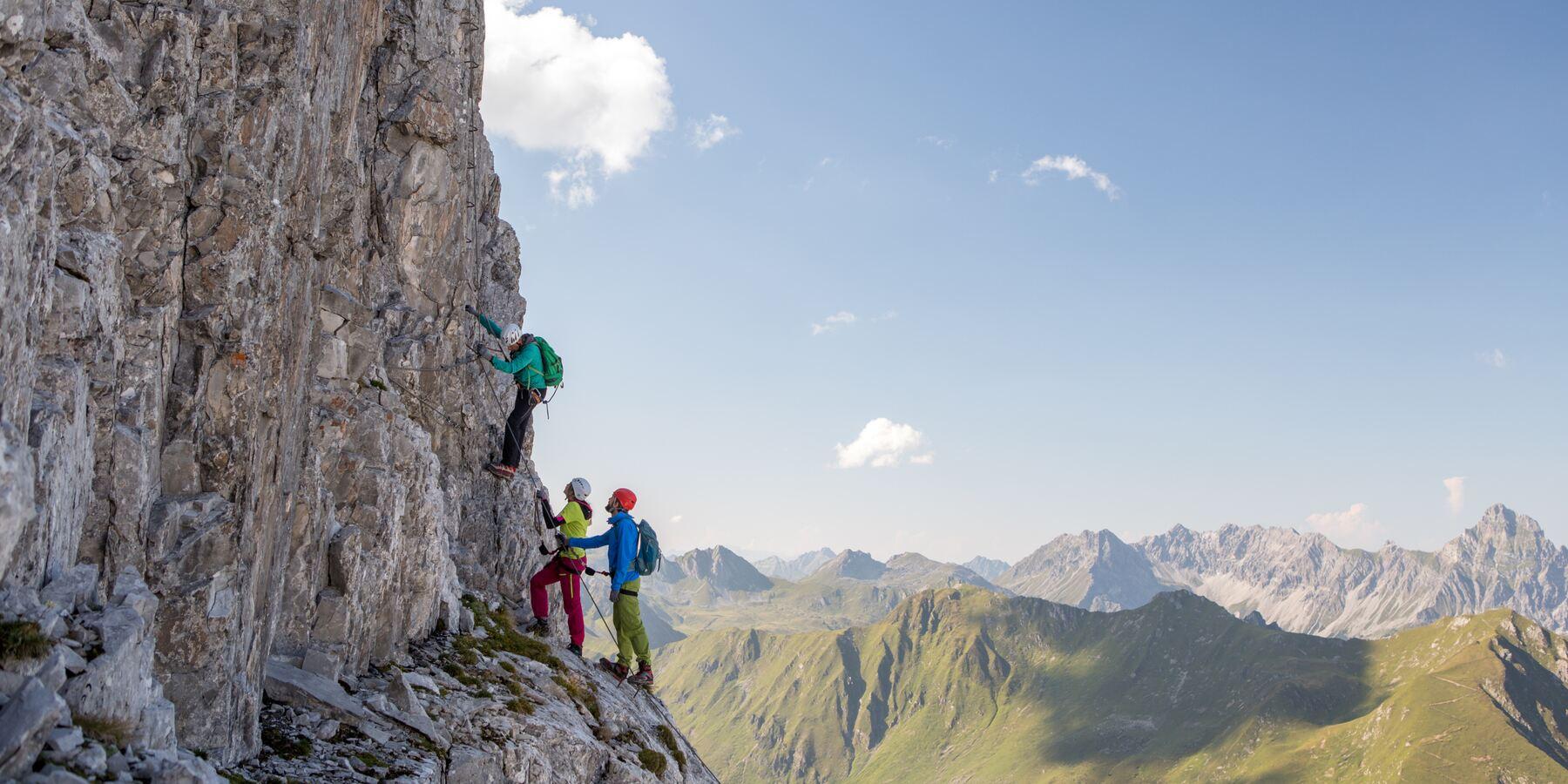 Klettern in Vorarlberg im Montafon | blaklimos.com