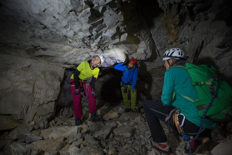 Klettersteig Englisch : Klettersteig gauablickhöhle montafon at