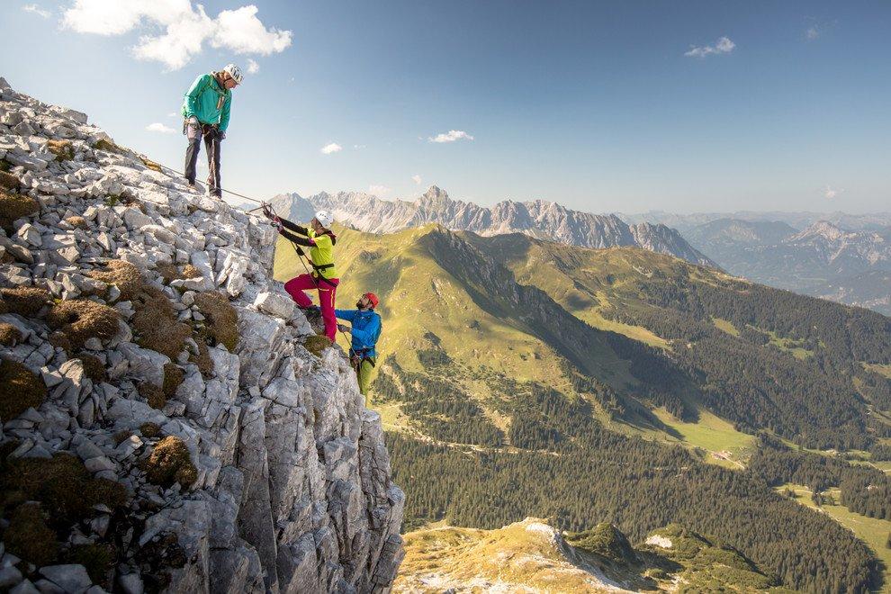 Klettersteig Hochjoch : Längste klettersteig vorarlbergs hochjoch im montafon