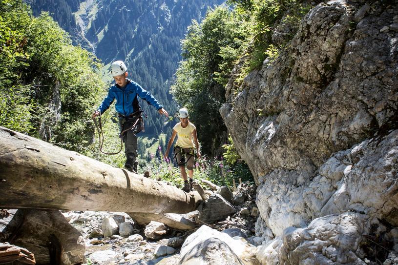 Klettersteig Englisch : Klettersteig gargellner köpfe montafon at