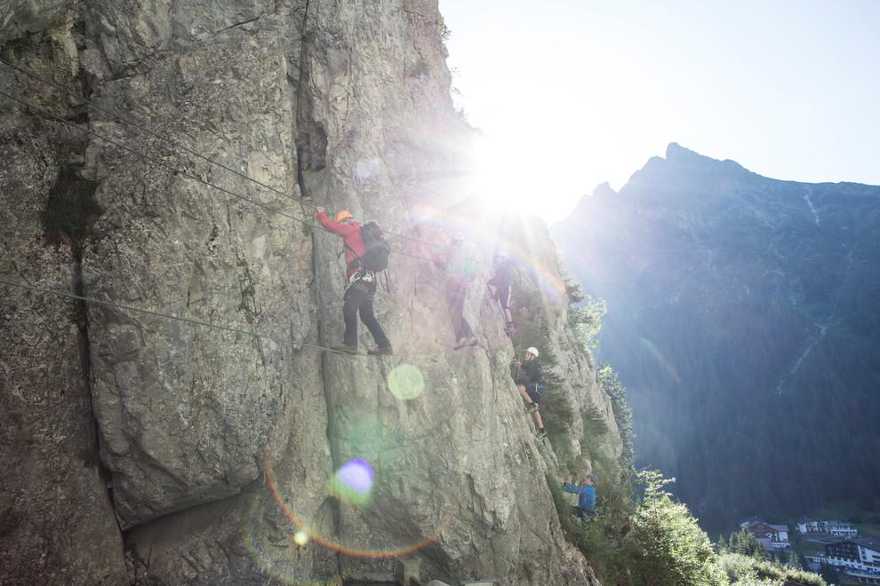 Vaude Klettersteig : Im test vaude bormio jacket bergsteiger magazin