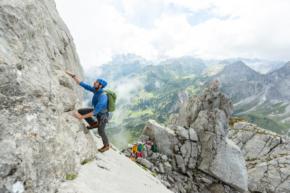Kletterausrüstung Vorarlberg : Klettern im montafon : bergsteigen in den alpen vorarlbergs