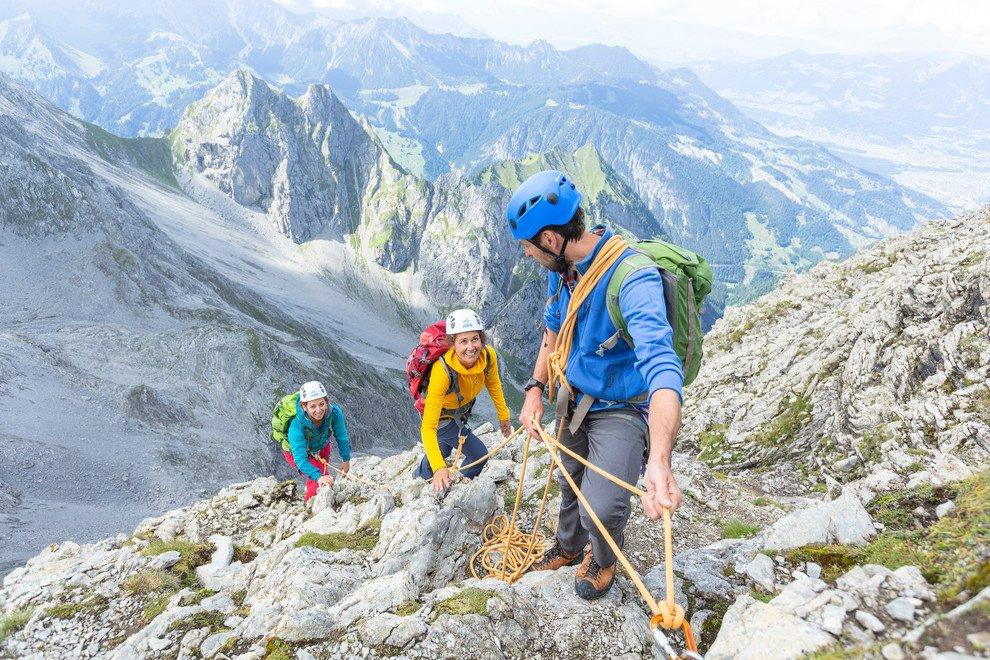 Kletterausrüstung Vorarlberg : Klettern in vorarlberg im montafon at