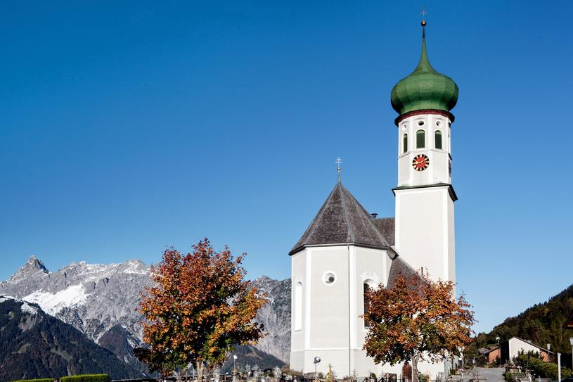 Bartholomew parish church | © Montafon Tourismus GmbH, Schruns - Christophe Ketels