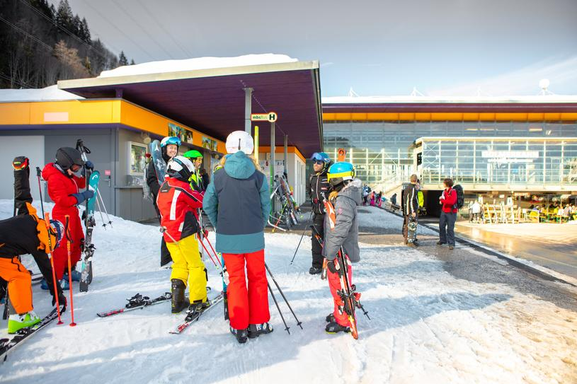 Kinder-Skisafari am Golm