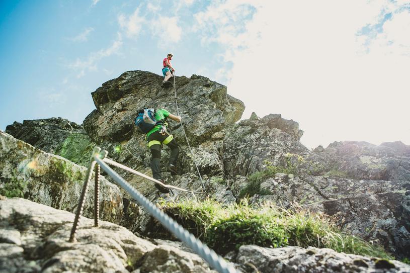Klettersteig Netstal : Neuer klettersteig im montafon berg und ski nachrichten
