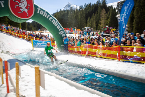 Water Attack & Beach Party | © Gargellner Bergbahnen GmbH & Co KG, Stefan Kothner