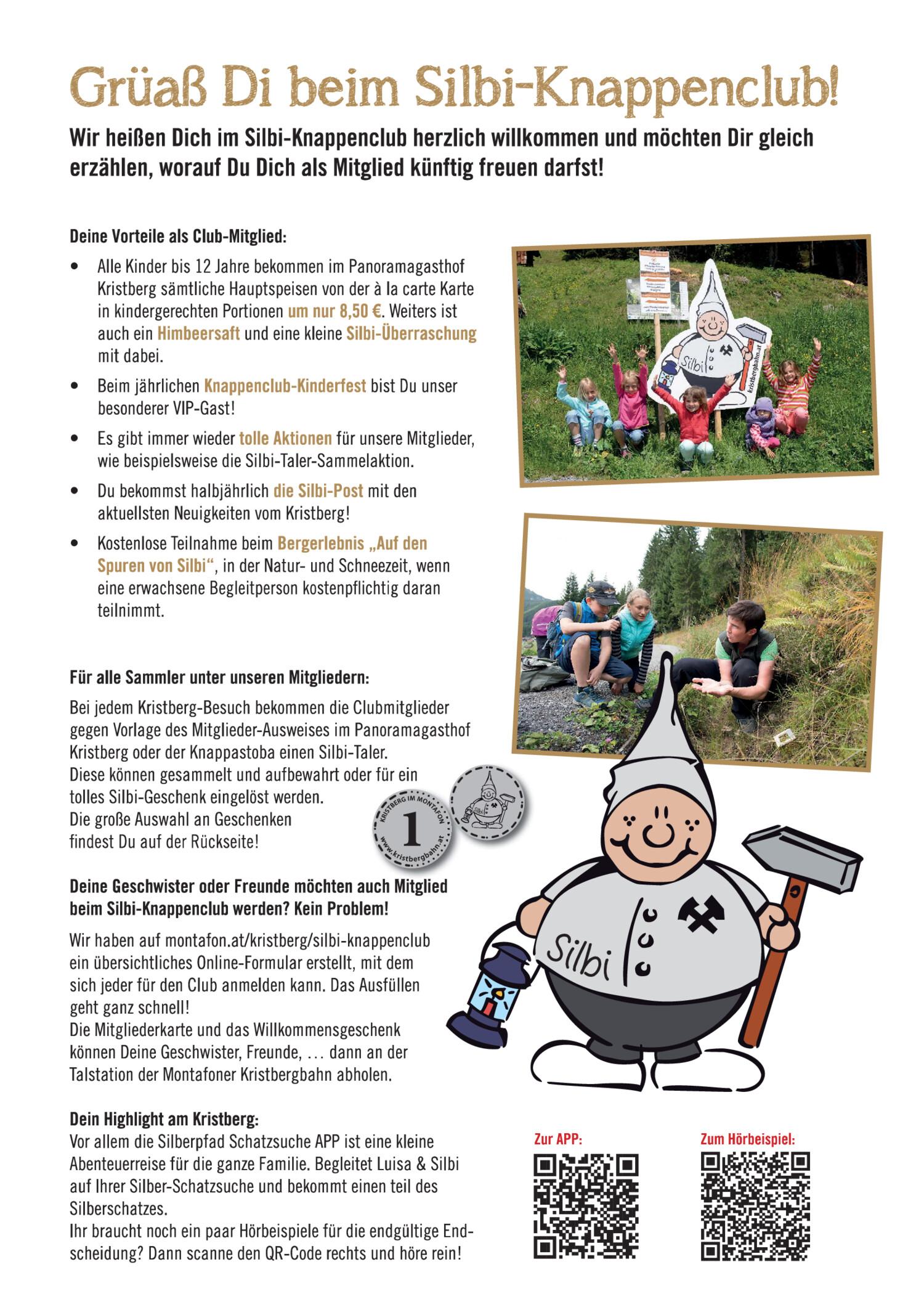 Bergknappenclub Von Silbi Von Der Montafoner Kristbergbahn Silbertal
