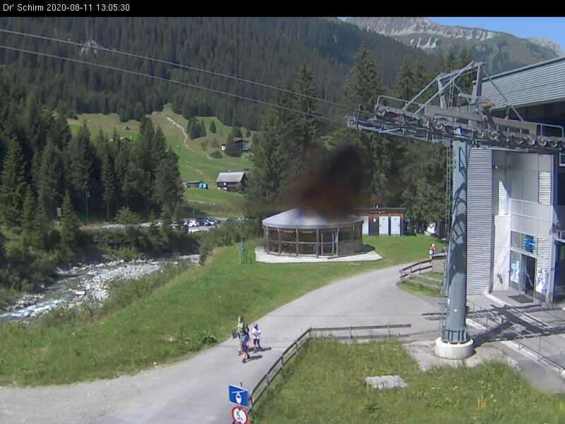 Gargellen webcam - Dr' Schirm ski station